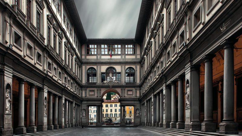 Galleria Uffizi Firenze Foto Esterna