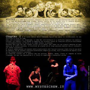 Mystes - Chapter I - Locandina Retro - Florence Performing Arts Festival