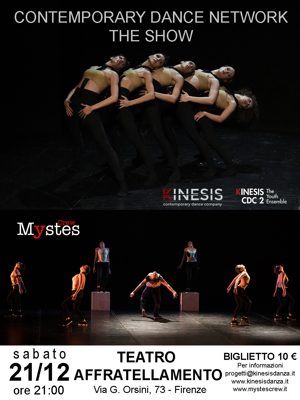 Mystes al Contemporary Dance Newtwork 2020
