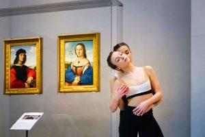 Foto DiSegni D'Amore - Abbracci - Produzione Mystes Dance Company di Gigi Nieddu