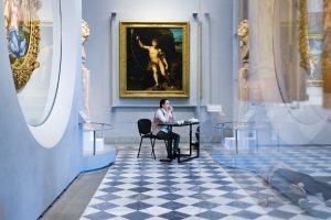 Foto Selene Papeschi - Mystes Dance Company - DiSegni D'Amore - Uffizi - Produzion Danza del Coreoggrafo Gigi Nieddu